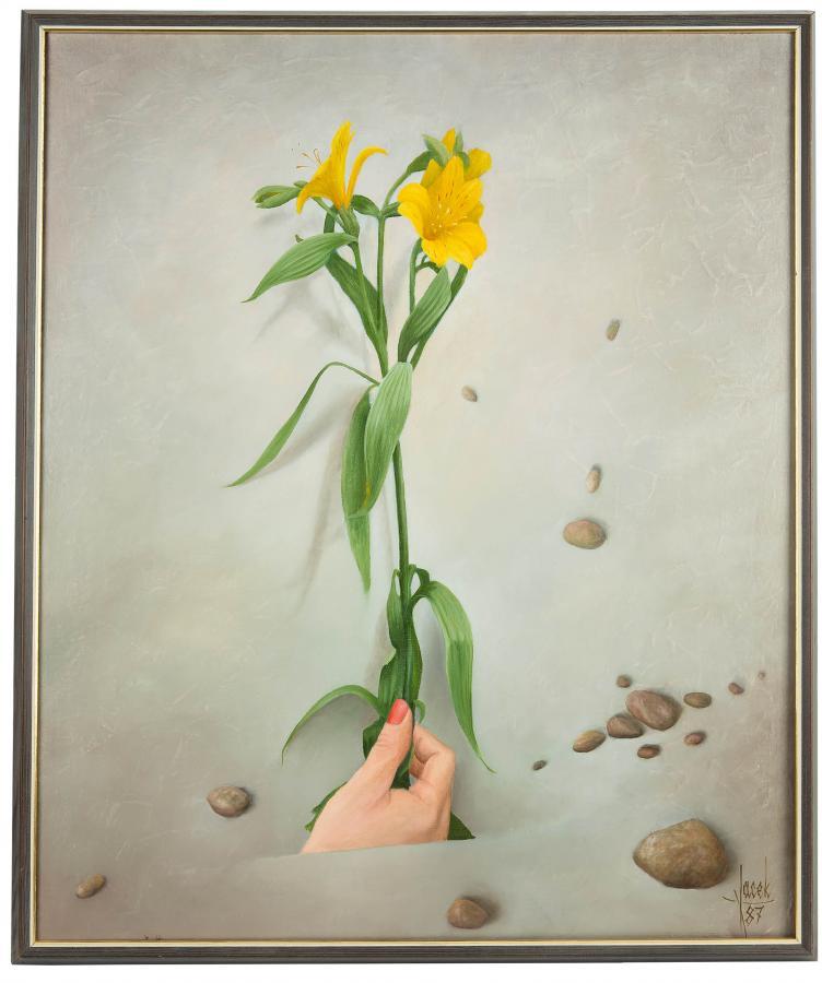 Kwitnąca ręka, 1987 r.