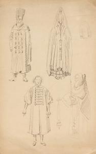 Szkice postaci, kon. XIX w.