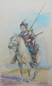 Lisowczyk na koniu