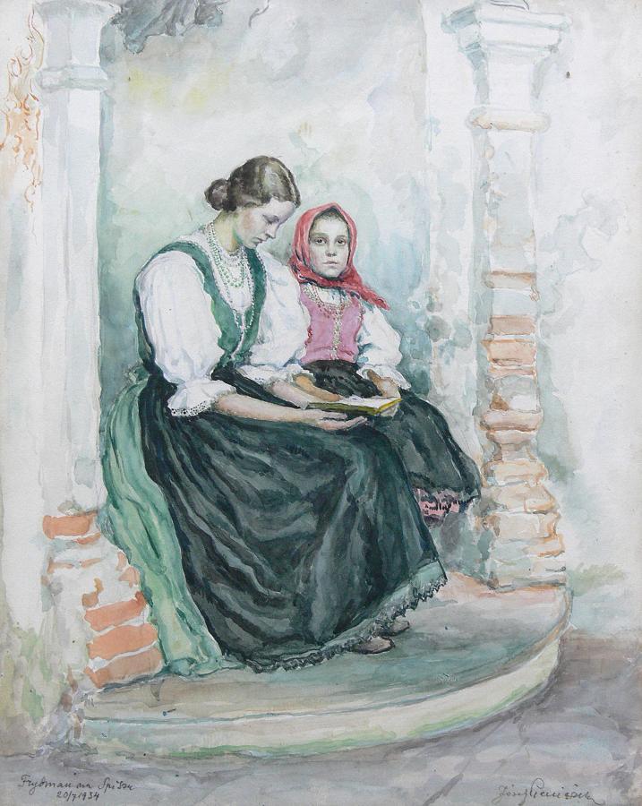 Kobiety ze Spisza, 1934