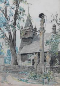 Pejzaż z Orawki, 1928
