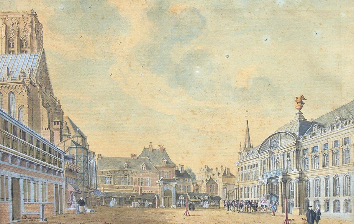 Widok Liège, 1741