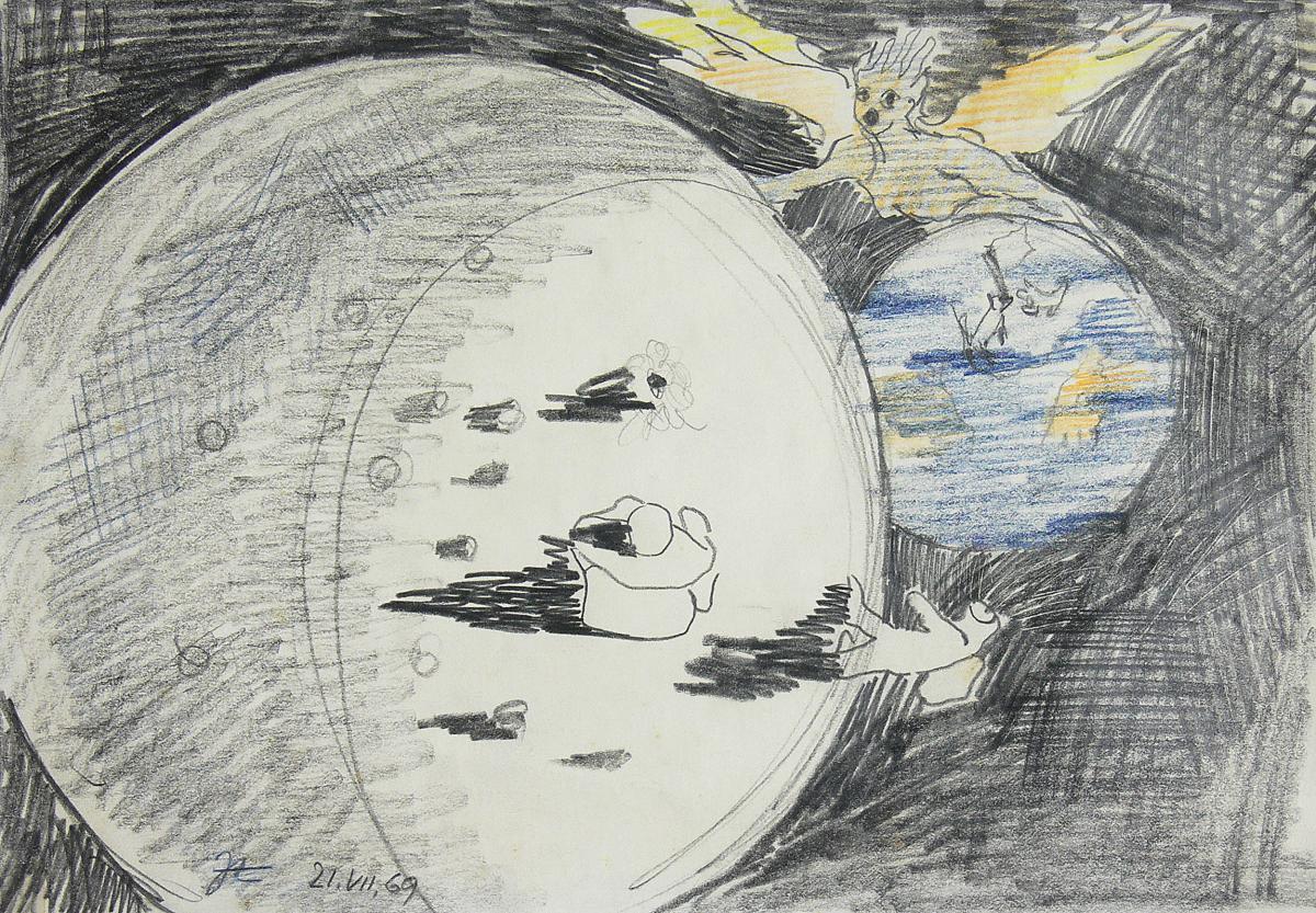 Lądowanie na Księżycu, 1969 r.