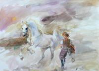 Siodłanie konia, 2020