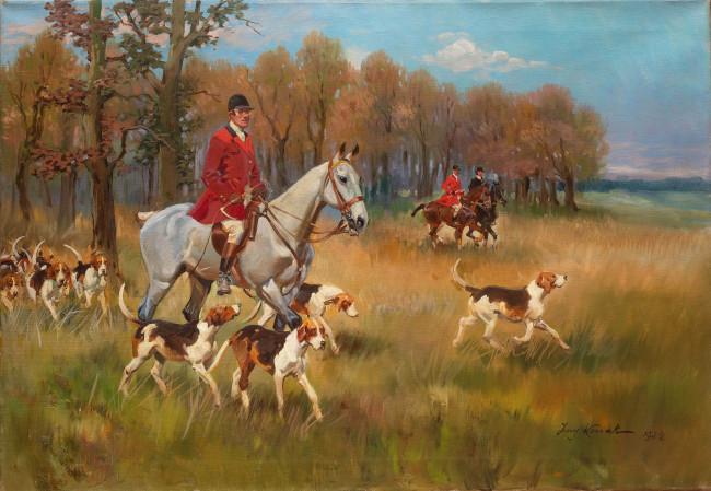 polowanie-par-force-1928-r-jerzy-kossak