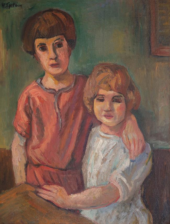 dwoje-dzieci-ok-1924-r-henryk-epstein