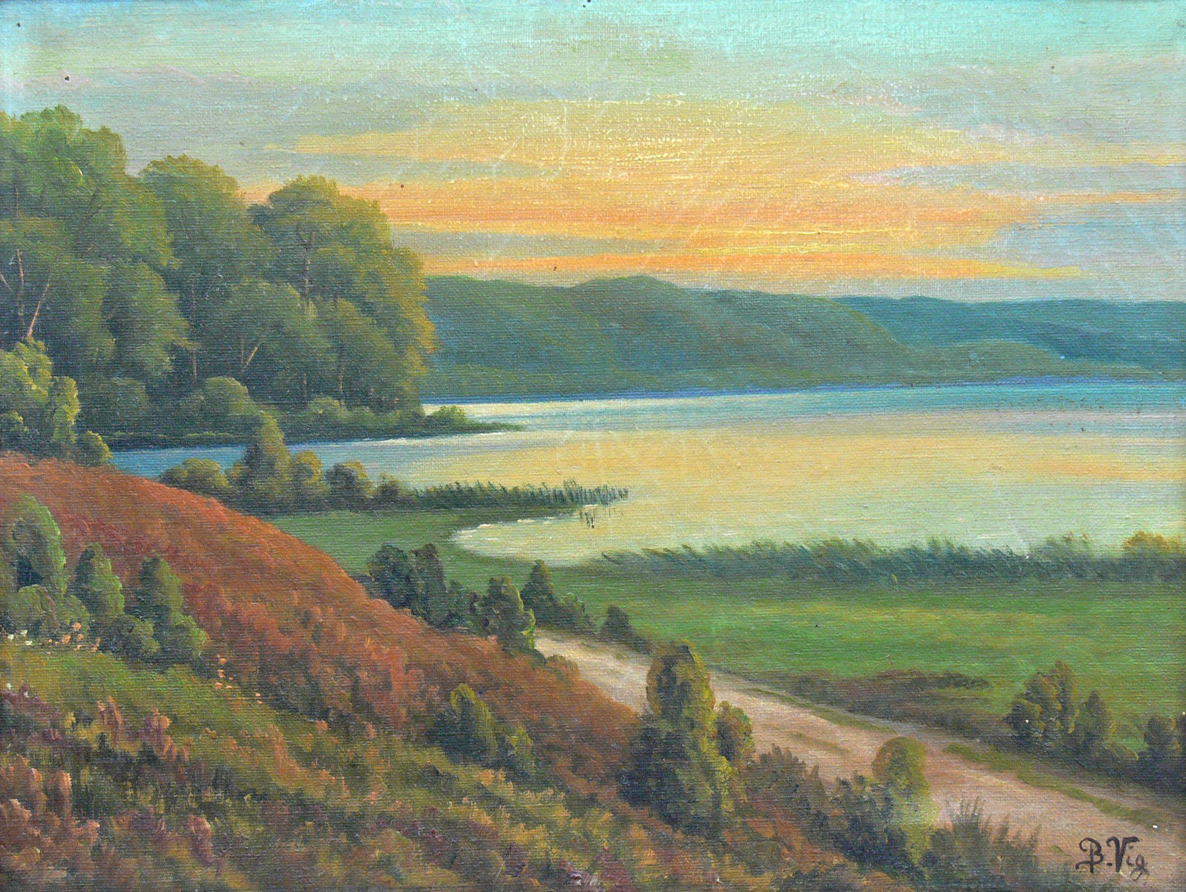 artysta-nieokreslony-pejzaz-z-jeziorem
