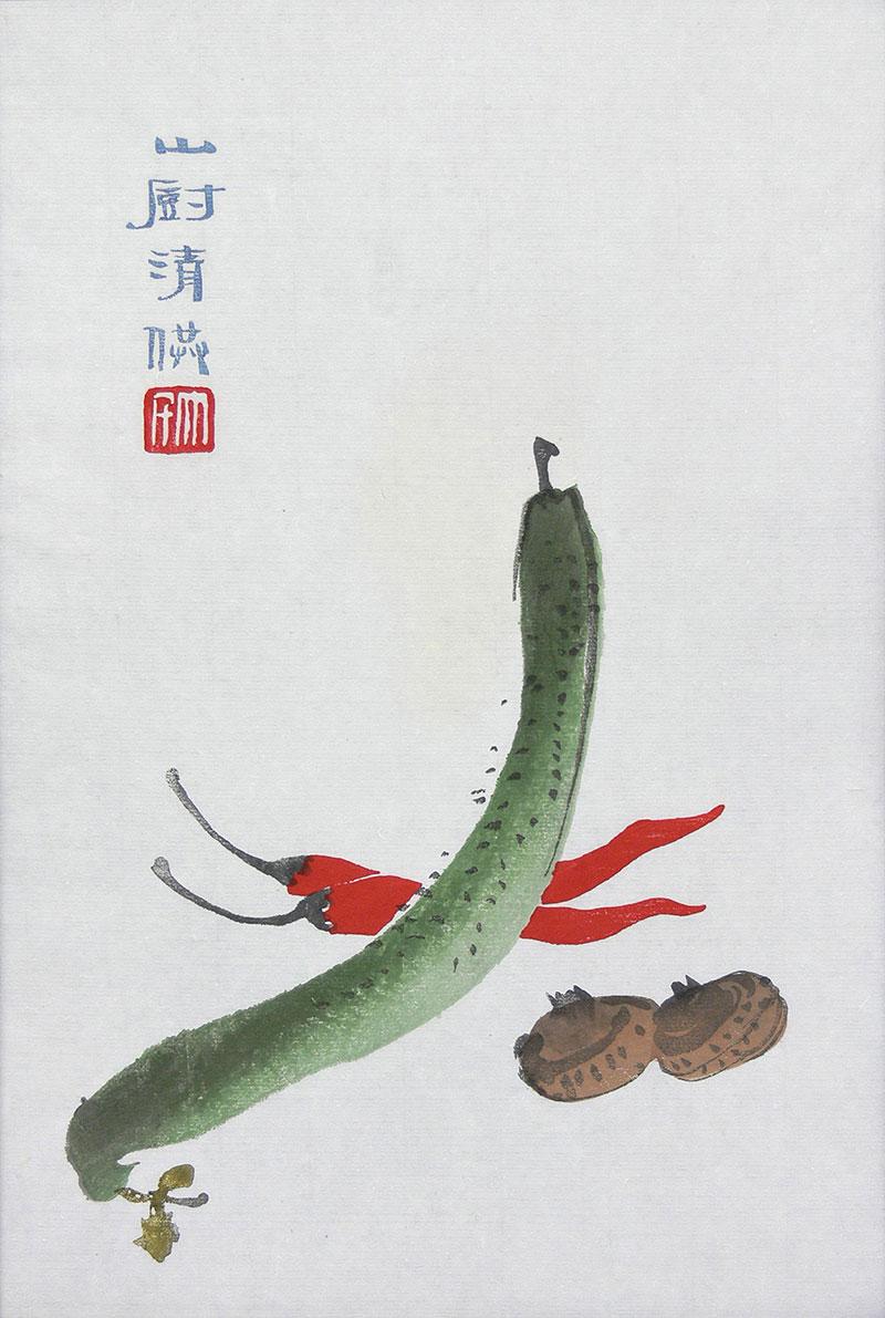 Qi Baishi | Warzywa