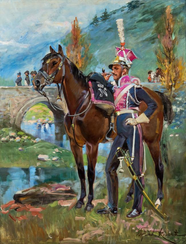 napoleon-pod-somosierra-1927-r-wojciech-kossak