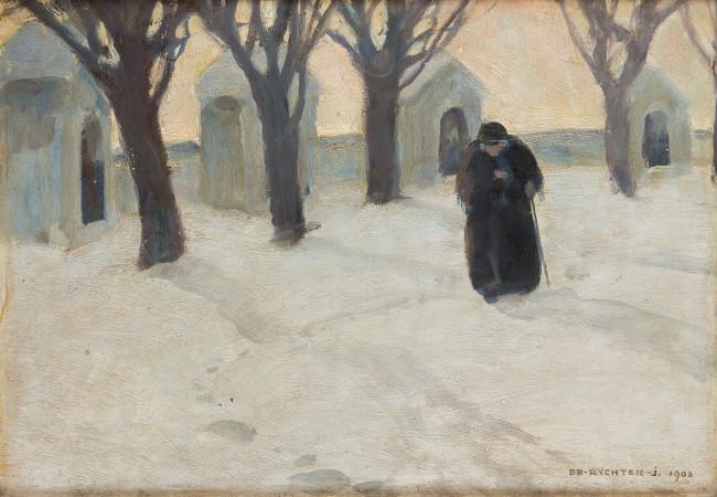 kapliczki-w-sniegu-1908-r-bronislawa-rychter-janowska