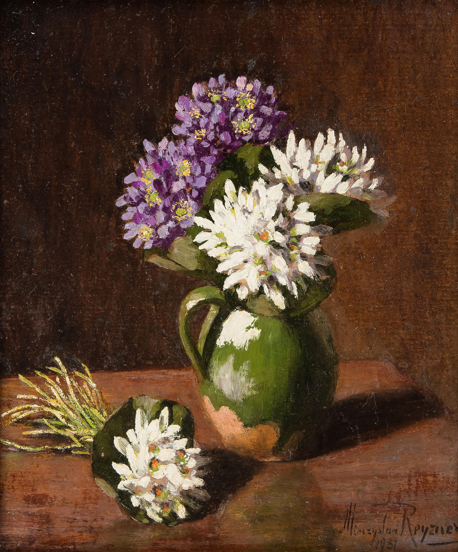 kwiaty-w-zielonym-dzbanie-1931-r-mieczyslaw-reyzner
