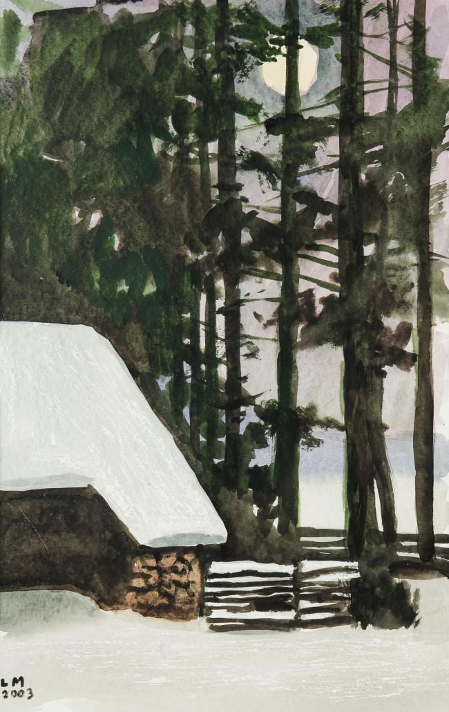 pejzaz-zimowy-z-chata-2003-r-ludwik-maciag