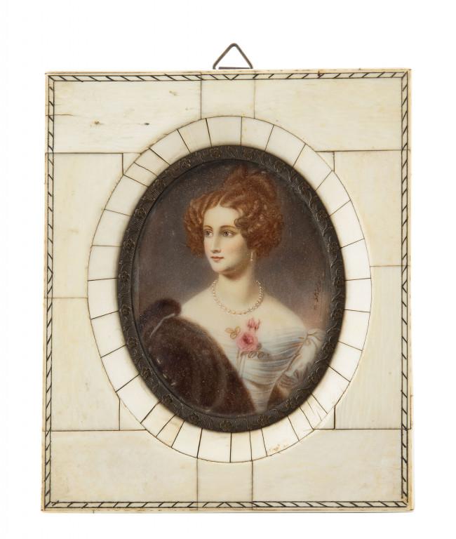 miniatura-portret-kobiety-wieden-k-xix-w
