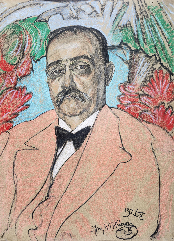 Stanisław Ignacy Witkiewicz   Portret mężczyzny, X 1926 r.