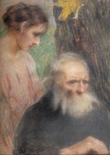 Teodor Axentowicz | Starość i młodość
