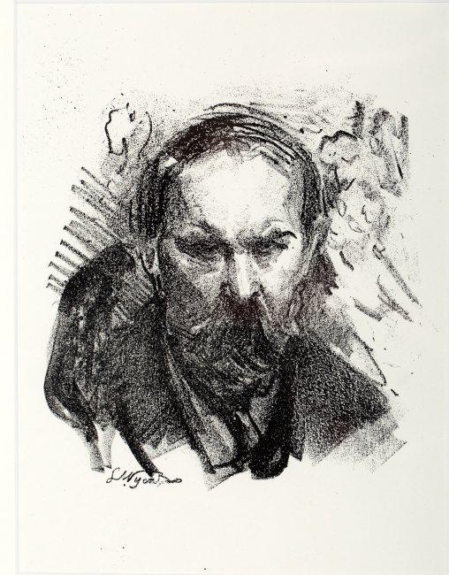 Leon Wyczółkowski | Portret Konstantego Laszczki, 1922 r.