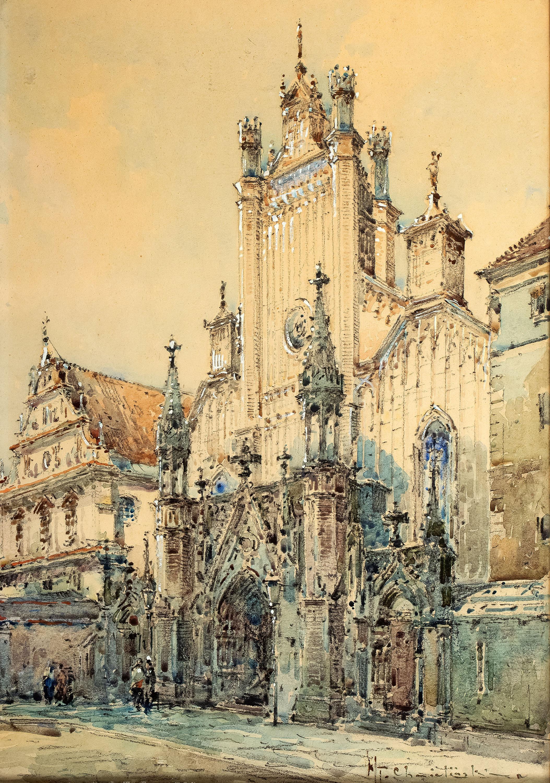 Władysław Chmieliński | Kościół św. Jana Chrzciciela, przed 1939 r.