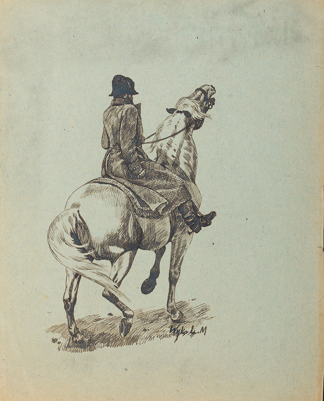 Ludwik Maciąg | Jeździec