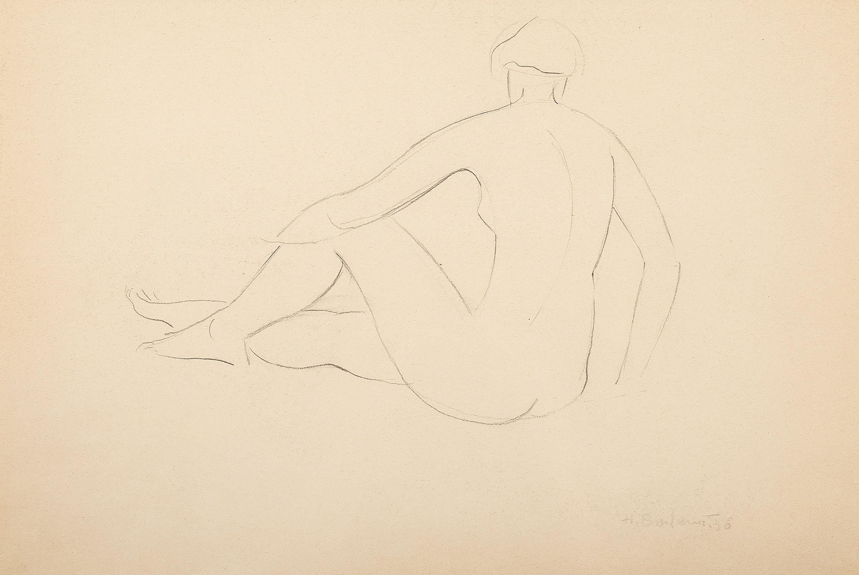 Henryk Berlewi | Akt (1936)