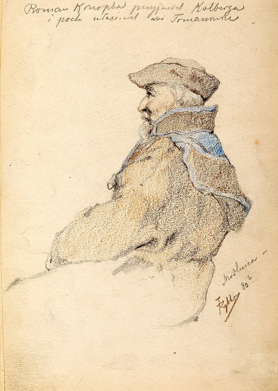 Tadeusz Rybkowski | Roman Konopka przyjaciel Kolberga, 1880 r. (?)