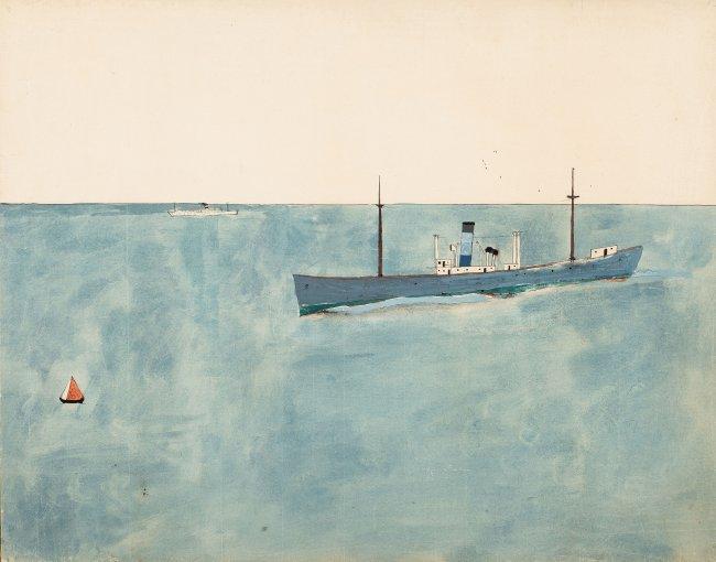 Jerzy Nowosielski | Okręt, 1949