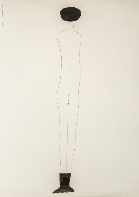 Jerzy Nowosielski | Akt (ostatnia praca artysty), 1999