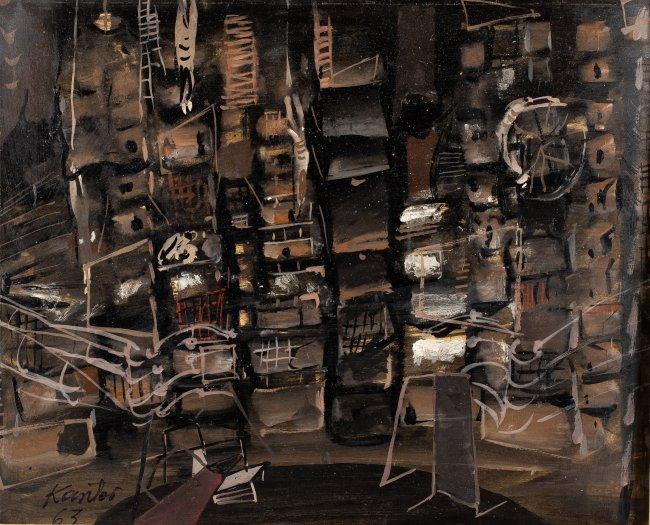 Tadeusz Kantor | Projekt scenografii do opery