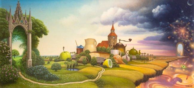 Jacek Yerka | Droga, 2003