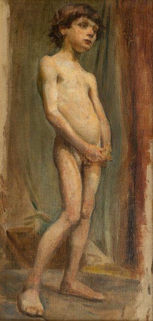 Stanisław Wyspiański | Akt chłopca, 1894