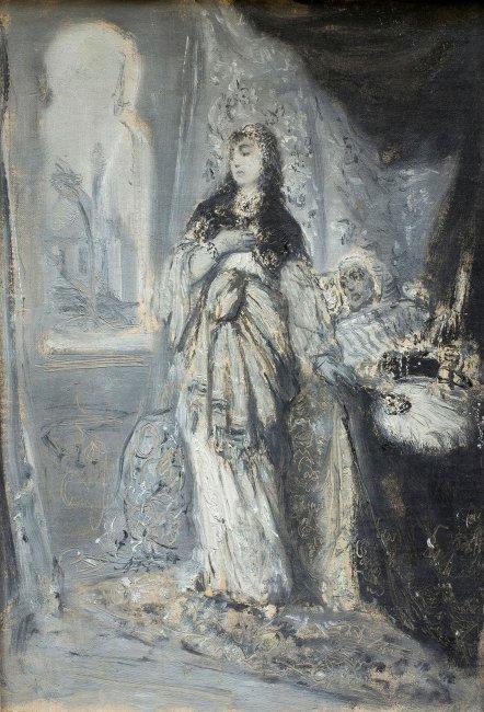 Maurycy Gottlieb | Recha, 1877 r.