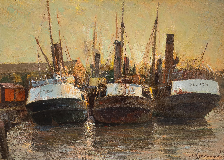 Henryk Baranowski | W starym porcie/Trawlery, 1980 r.
