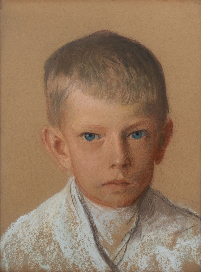 portret-chlopca-leon-wyczolkowski