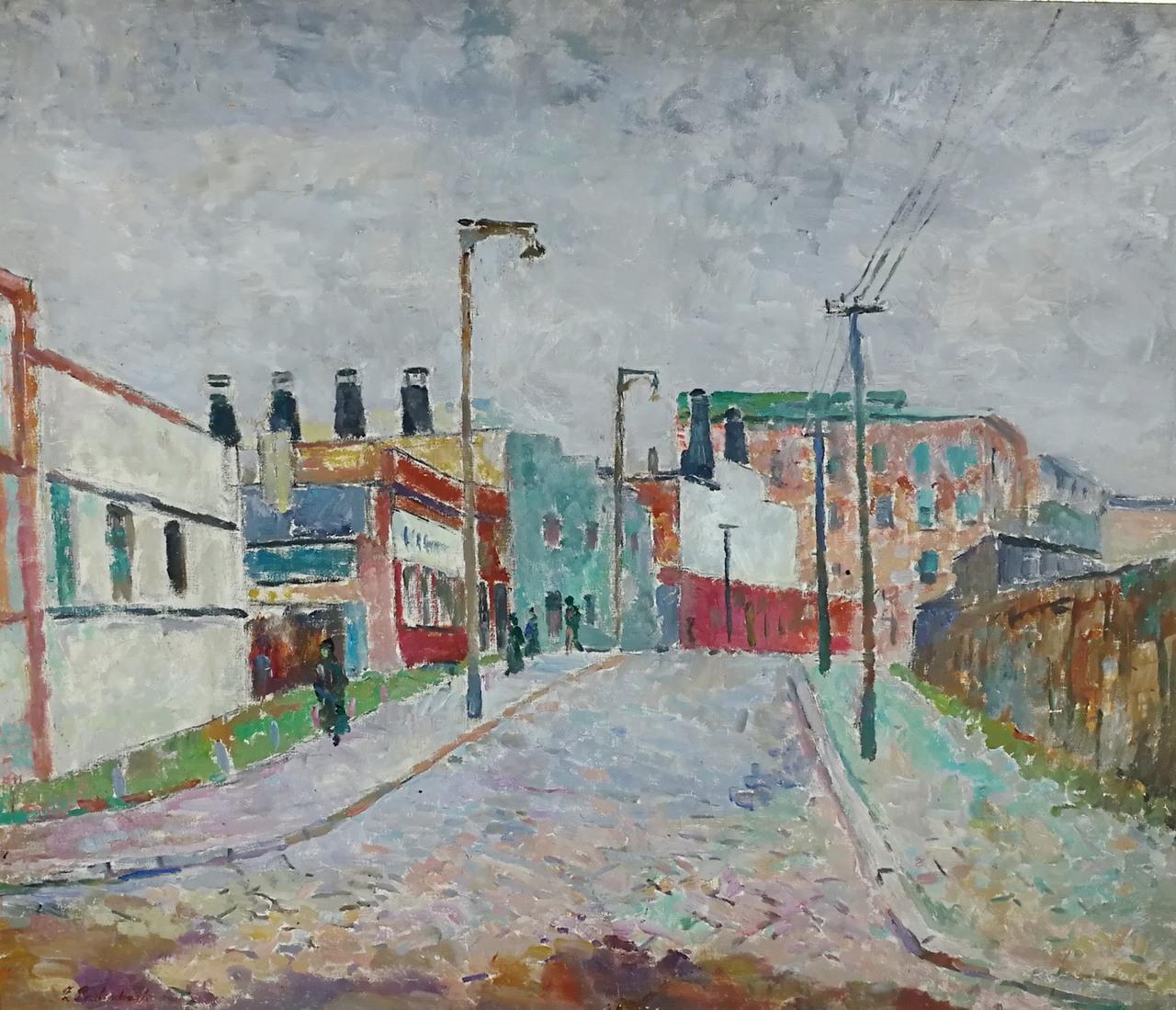 Zdzisław Przebindowski   Ulica w Gdyni
