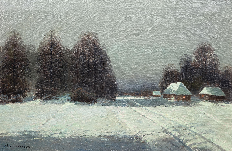 Wiktor Korecki | Pejzaż zimowy