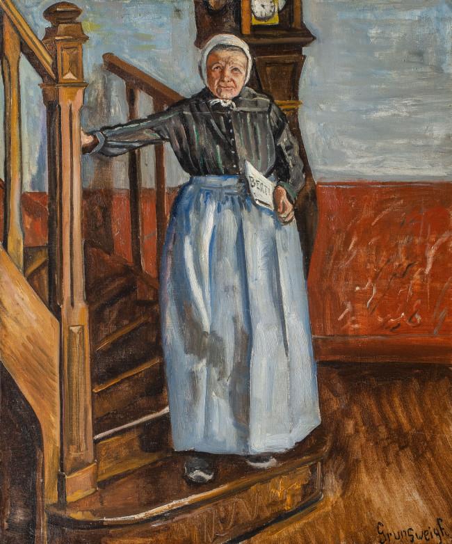 starsza-kobieta-z-gazeta-nathan-grunsweigh