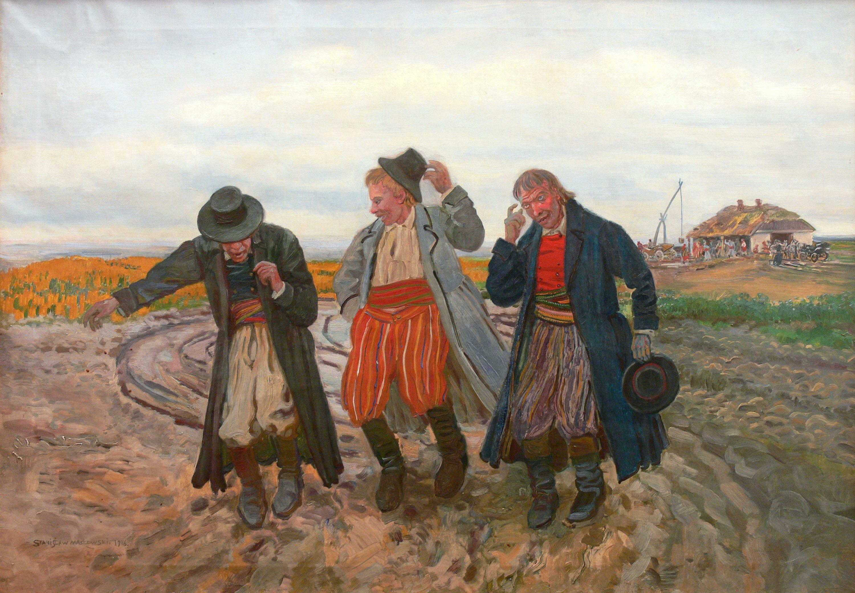 powrot-z-karczmy-1918-r-stanislaw-maslowski