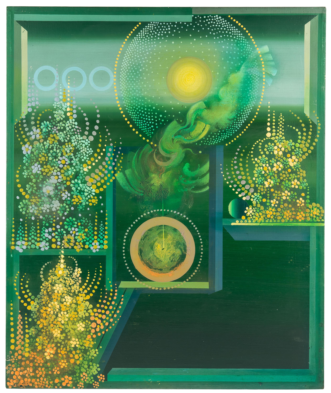 kompozycja-zielona-henryk-plociennik