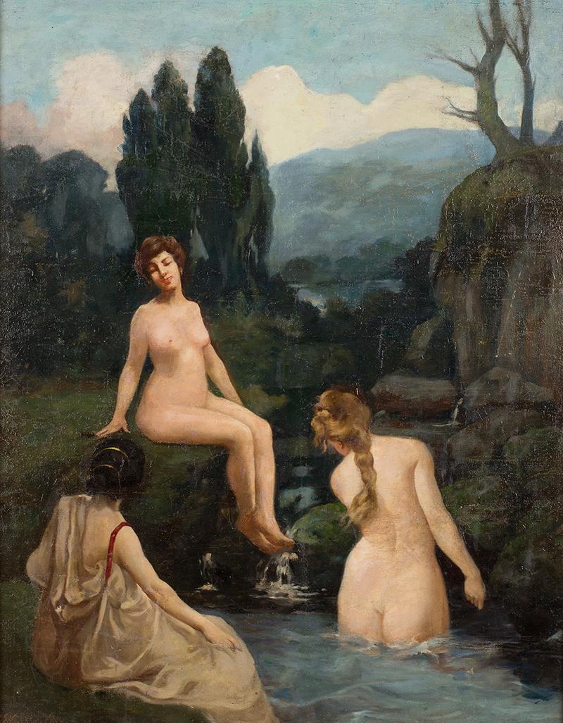 Karol Ciszewski | Kąpiące się kobiety