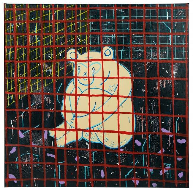 Maria Jagłowska | Małpa - siedzę i patrzę w pustą ścianę, 2020