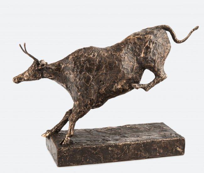 Magda Schreiber | Skacząca krowa z Lascaux, 2020