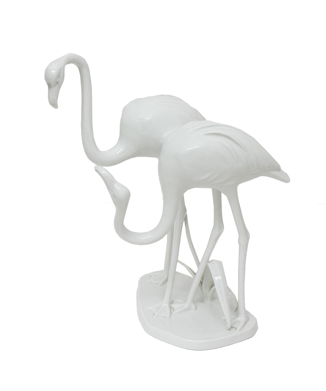 Figura flamingów