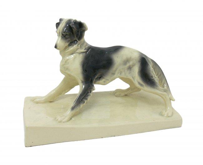 Figura psa w ruchu