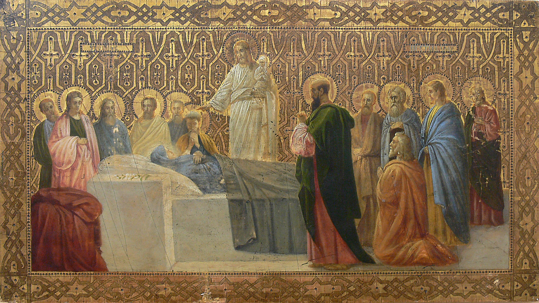 Ikona Zaśnięcie Marii