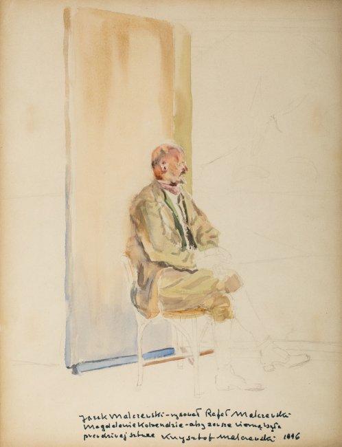 Rafał Malczewski   Portret ojca