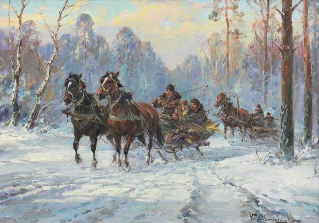 Władysław Chmieliński | Sanna w lesie