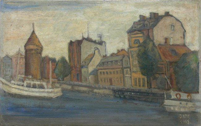 Jan Rzyszczak | Gdańsk Motława, 1968 r.