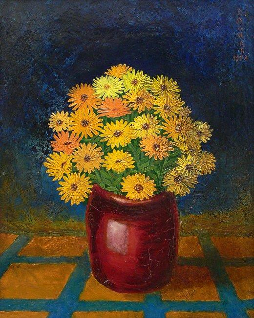 Zenon Radke | Kwiaty, 1983 r.