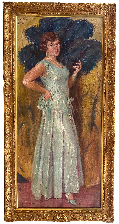 portret-corki-artysty-krystyny-1931-r-wincenty-wodzinowski