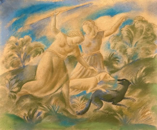 polowanie-diany-1934-r-waclaw-borowski