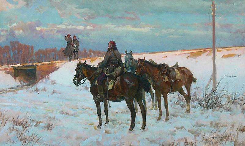 Ignacy Zygmuntowicz   Na patrolu